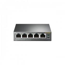 TP-LINK - Switch de bureau 5 ports 10/100 Mbps 4 ports PoE TL-SF1005P