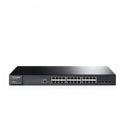 TP-LINK - Switch JetStream 24 ports Gbit + 4 SFP - T2600G-28TS