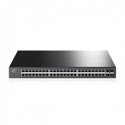 TP-LINK - Switch 52 ports dont 48 ports Gbit PoE + 4 SFP T1600G-52PS