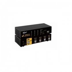KVM 4 ports HDMI/USB - 1080p - Livré avec cordons 1.5m