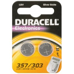 DURACELL - Pile SR44 - Blister de 2