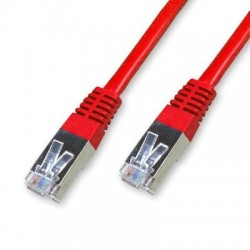 Cordon Cat 6 FTP Rouge - 0.25 m