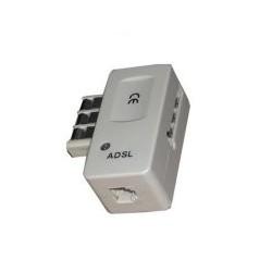 Conjoncteur gigogne RJ11 avec filtre ADSL