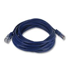 """""""Cordon RJ45 2 paires bleu """"""""téléphone"""""""" - 0.5 m - 3/3 4/4 5/5 6/6"""""""